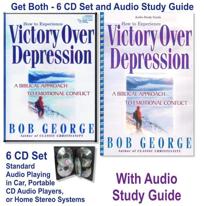 Victory Over Depression CDs and Study Guide